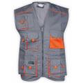 Vest Gray/Orange
